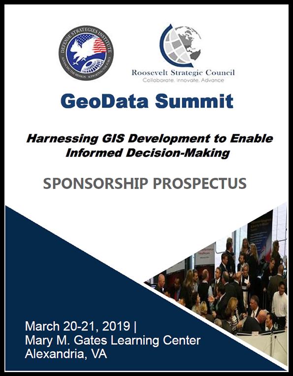 GeoData Sponsorship Prospectus Cover